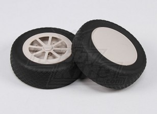 Scale Air Wheels 127mm (5inch) (Split Hub) (2pcs/Set)