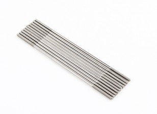 M2x75mm Stainless Steel Push Rods (LH & RH Threaded) (10pcs)