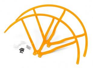 10 Inch Plastic Universal Multi-Rotor Propeller Guard - Yellow (2set)