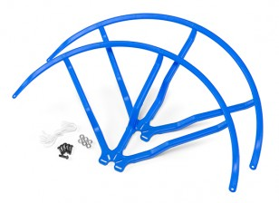 10 Inch Plastic Universal Multi-Rotor Propeller Guard - Blue (2set)