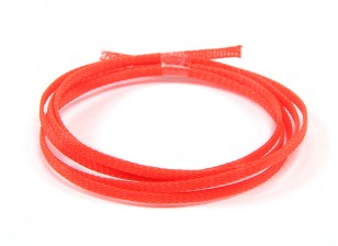 Wire Mesh Guard Neon Red 3mm (1m)