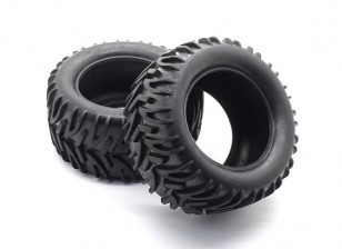 Front/Rear Tire Set - 1/10 Quanum Vandal XL 4WD Racing Buggy (2pcs)