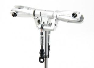 Tarot 450 PRO/PRO V2 DFC Low Profile Rotor Head Assembly - Silver (TL45162-A)