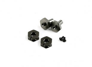 Optional Wheel Hub (Titanium) - BSR Racing BZ-222 1/10 2WD Racing Buggy