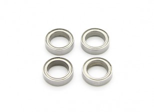 BSR Racing M.RAGE 4WD M-Chassis - Bearings 10x15x4mm (4pcs)