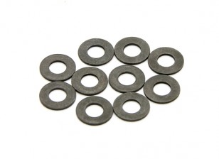 BSR Racing M.RAGE 4WD M-Chassis - Washers (3x6.5x0.5mm) (10pcs)