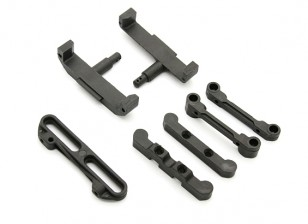 BSR Racing M.RAGE 4WD M-Chassis - Rear Suspension Mount Set