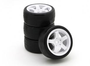 Sweep SWP-MN33 Mini Touring Complete Tire Set 33deg (4pcs)