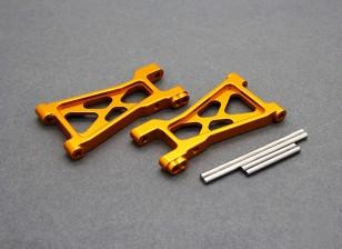 Option Alu. Lower Susp. Arm - Basher PitBull 1/18 4WD Desert Buggy (1 pair)