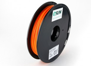 ESUN 3D Printer Filament Orange 3mm PLA 0.5KG Spool
