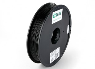 ESUN 3D Printer Filament Black 1.75mm ABS 0.5KG Spool