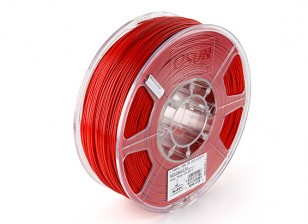 ESUN 3D Printer Filament Red 1.75mm ABS 1KG Roll