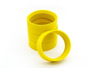 RiDE 1/10 Touring Molded Inner Foam - Yellow - Soft (4pcs)