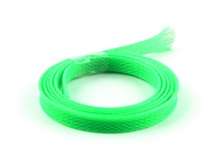Wire Mesh Guard Neon Green 8mm (1m)