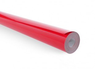 Covering Film - Solid Bright Red (5m) 102