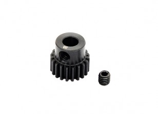 Hobbyking™ 0.6M Hardened Steel Helicopter Pinion Gear 5mm Shaft - 20T