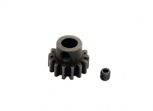 Hobbyking™ 1.0M Hardened Steel Helicopter Pinion Gear 6mm Shaft - 14T
