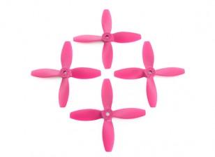 Lumenier FPV Racing Propellers 4040 4-Blade Pink (CW/CCW) (2 Pairs)