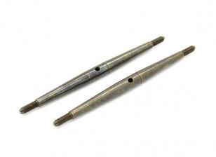 TrackStar 1/10 Spring Steel Turnbuckle M3x75 (2pcs)