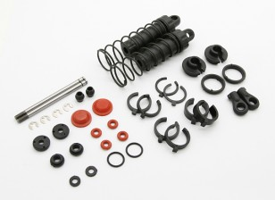 Front Shock Set - BSR Racing BZ-444 1/10 4WD Racing Buggy