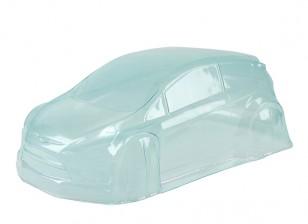 Un-cut Clear Lexan Body Shell w/decal - BSR Racing 1/8 Rally