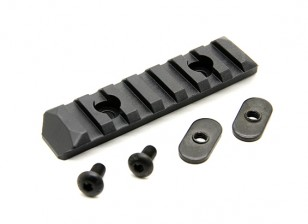 PTS Enhanced Rail Section 7 Slots (Black)