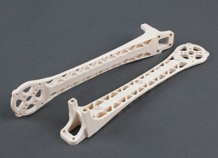 Upswept Upgrade Arms for DJI Flamewheel Style Multirotors V500 / H550 (White) (2pcs)