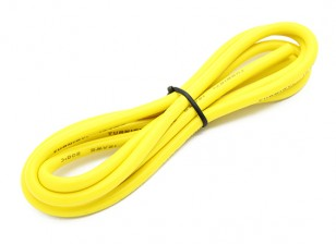Turnigy High Quality 12AWG Silicone Wire 1m (Yellow)