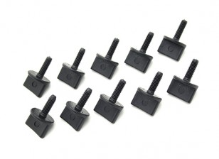 Nylon Thumb Screw M4 x 12mm - (10pc)