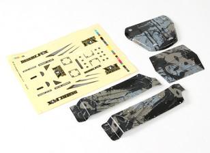 Desert Fox Printed Body Panels Full Set (1 set)