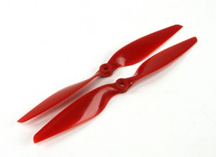 Aerostar Composite Propeller 10x5.5 Red (CW/CCW) (2pcs)