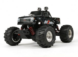 Basher 1/16 4WD Mini Monster Truck V2 - HellSeeker (RTR)