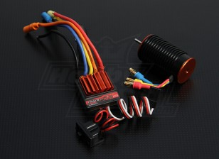 TrackStar 1/18th Scale 14T Brushless power System (4300kv)