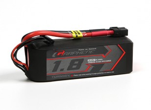 Turnigy Graphene 1800mAh 4S 65C LiPo Pack w/ XT60 FAI World Champion winning pack