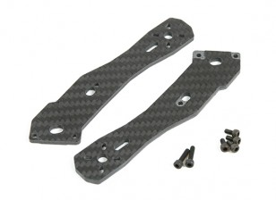 Tarot 3mm Thick Rear Arms for TL250H Half Carbon Fiber