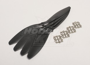 GWS Style Slowfly Propeller 11x4.7 Black (CW) (4pcs)