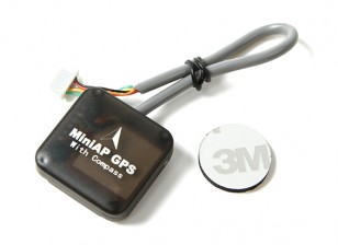 Ublox 7 Series Nano MiniAP GPS with Compass for Mini APM