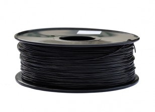 HobbyKing 3D Printer Filament 1.75mm PLA 1KG Spool (Black)