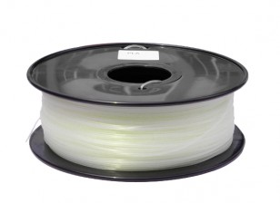 HobbyKing 3D Printer Filament 1.75mm PLA 1KG Spool (Glow in the Dark - Green)