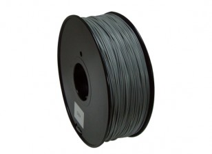 HobbyKing 3D Printer Filament 1.75mm PLA 1KG Spool (Color Changing - Grey to White)