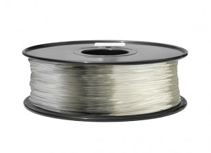 HobbyKing 3D Printer Filament 1.75mm ABS 1KG Spool (Clear)