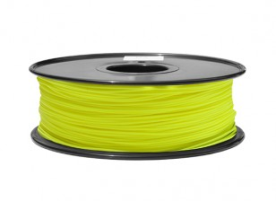 HobbyKing 3D Printer Filament 1.75mm ABS 1KG Spool (Canary Yellow)