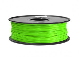 HobbyKing 3D Printer Filament 1.75mm ABS 1KG Spool (Solid Green)