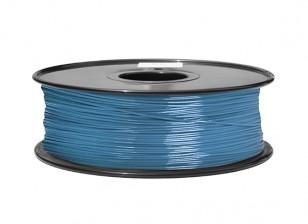 HobbyKing 3D Printer Filament 1.75mm ABS 1KG Spool (Blue P.632C)