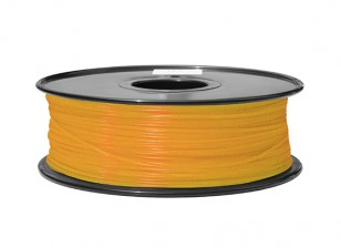 HobbyKing 3D Printer Filament 1.75mm ABS 1KG Spool (Fluorescent Orange)