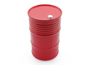 1/10 Scale 45 Gallon Oil Drum - Orange