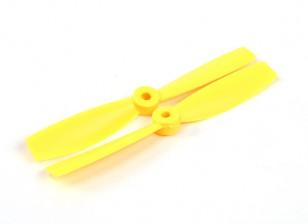 HobbyKing 5050 Bullnose PC Propellers (CW/CCW) Yellow (1 pair)