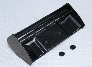 1/8 Large Wing Black
