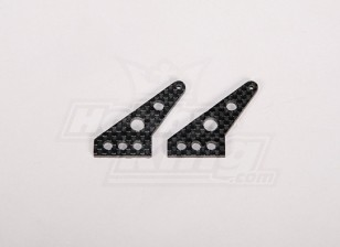 Carbon Fiber Control Horn 35x24mm (2pcs/bag)