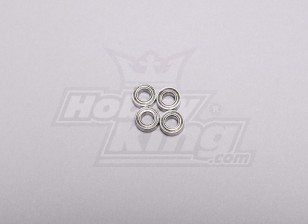 HK-250GT Ball Bearing 6 x 3 x 2.5mm (4pcs/set)